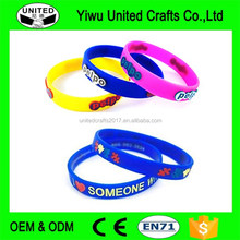 Custom Promotional Silicon Bracelet,Adjustable Silicon Wristband,Promotion Wrist Band
