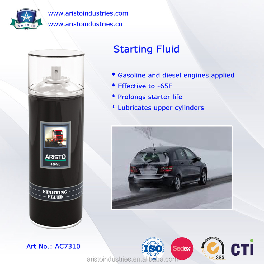 Professional Car Care Products Fluid Quick Starting Spray Low Temperature