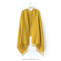 Fashion new design solid acrylic pashmina scarf/shawl