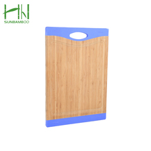 Best Selling Cost price meat bamboo cutting colorful chopping boards