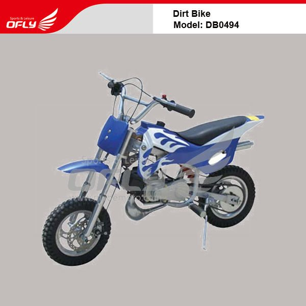 2012 new Dirt Bike Gas-Powered Dirt Bike with 2-stroke 49CC Gasoline Engine DB0494