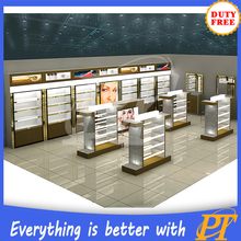 cosmetic display cabinet and showcase, makeup display furniture for cosmetic kiosk