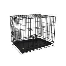 Good quality outside dog kennels dog cage with plastic pallet / pet cage with removable tray