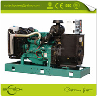 68KW~550KW diesel power generator with volvo engine TAD532GE 100KW electric generator set price