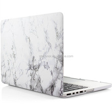 "Marble Pattern Cover For MacBook Pro 15"" Retina Display White Marble Case Cover Rubberized Hard Shell for Macbook Pro 15'' Case"