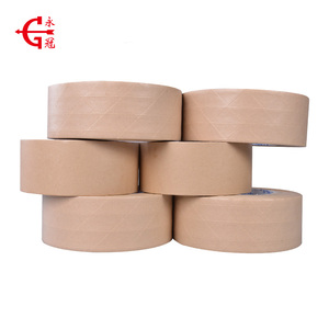 Wholesale temperature-resistance reinforced gummed adhesive kraft paper tape