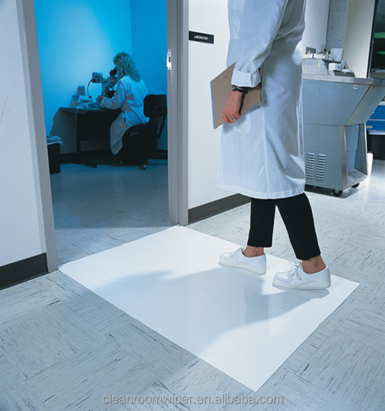 Blue Disposable Sticky Floor Mat