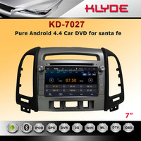 7 inch car multimedia system for Santa Fe 2012 with subwoofer