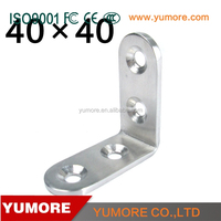 Quality approval heavy duty l shape angle railing stainless steel bracket