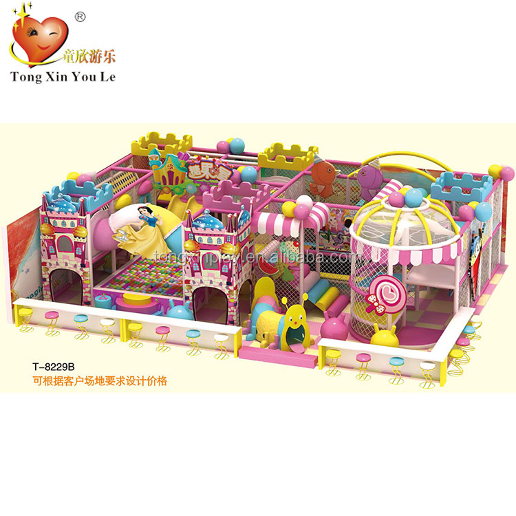 Specialized commercial soft foam indoor playground for children