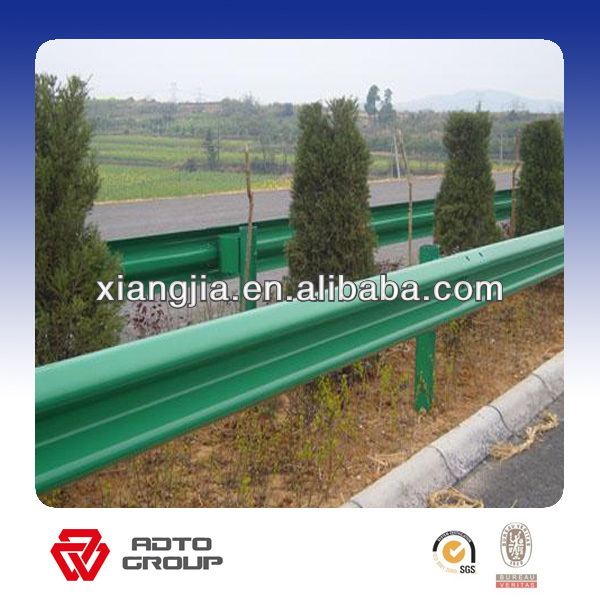 GI hot sell and best quality galvanized guardrail post / guard rail for safety ( factory & ISO9001 )