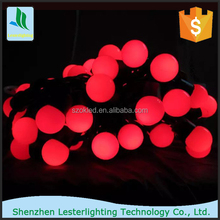 Round white balls festive outdoor Christmas lights wedding decoration New Style 50 Solar string LED light