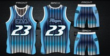 New sublimated basketball jersey/uniform with design