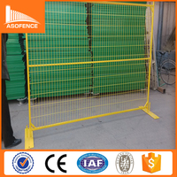 18 Years Factory High Quality Canada Type Removable Galvanized Temporary Fence