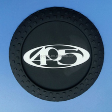 custom tyre shaped rubber coaster