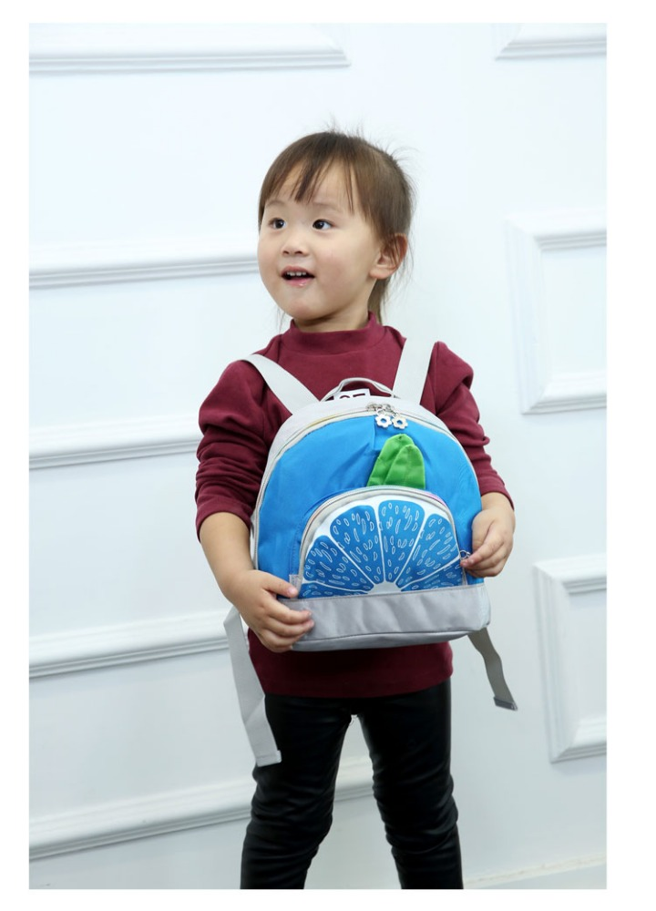 Colorful baby school backpack cheap kids back pack