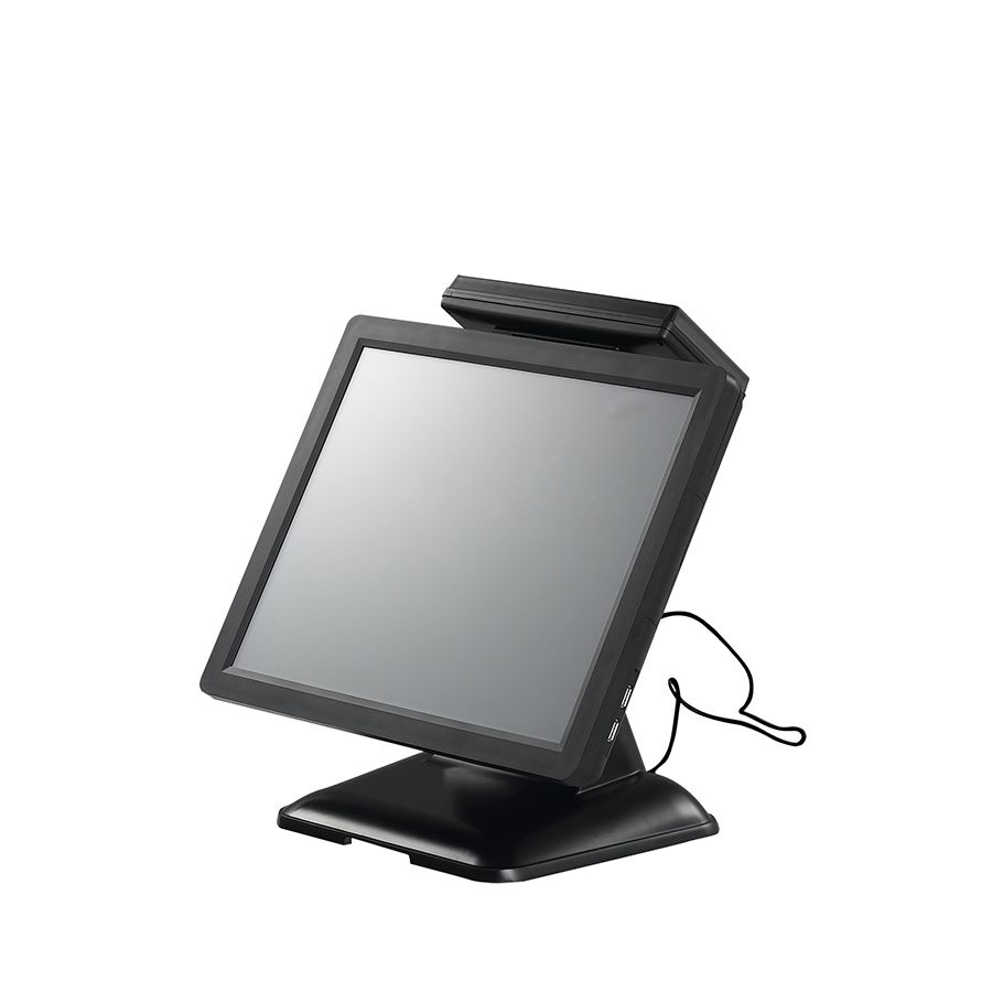 Promotion 15'' windows 7 operating system all-in-one touch screen POS terminal for small business retail