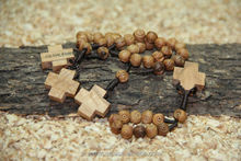 Finger Rosary of Ancient Olive Wood