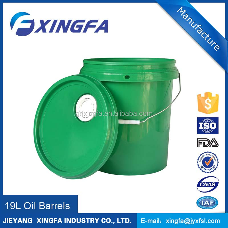 gasoline buckets plastic barrel for lubricating oil 5 gallon bucket jerry cans-20l oil drums product