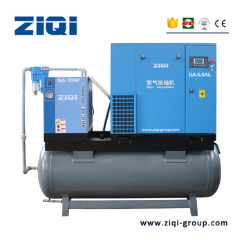 Industrial Portable Combined Mounted Air Compressor for Printing