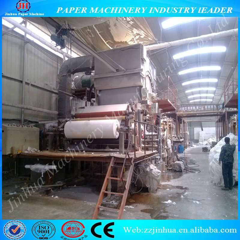 1760mm Tissue paper making machine for sale