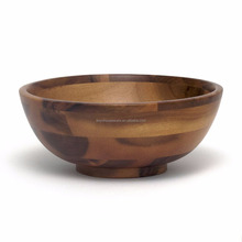 High quality acacia wood bowls for sale