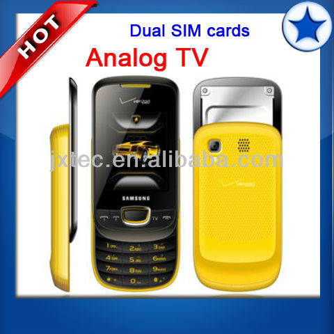 2013 wholesale china 2 sim TV mobile phone Q13