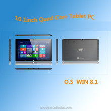 10.1 inch Model No. OB-I1016 Intel Z3735G quad core tablet pc with WIFI, bluetooth, 2G RAM, 32G ROM, Dual cameras