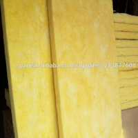 Mylar faced glass wool sheet insulation /high density glasswool panel