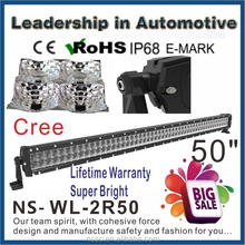 wholesale!!!50 inch 300w cree off road led lightbar,led driving light,waterproof,for 4x4 car accessory,SUV,ATV,4WD,truck,UTV