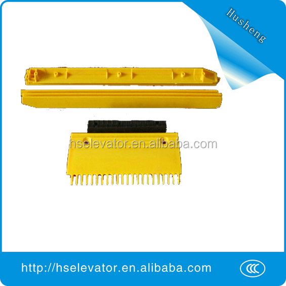 escalator comb plate middle, escalator comb floor plate