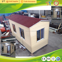 Prefab tiny house/modern design durable kit house garden hut