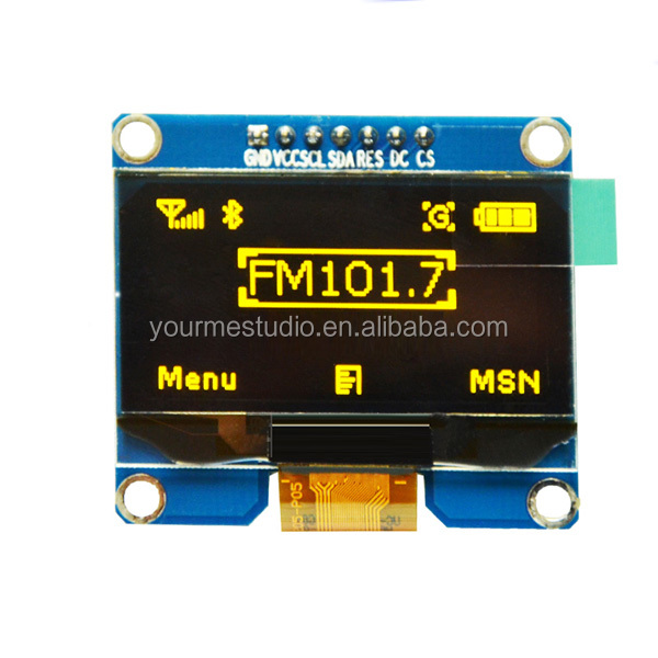 128x64 LCD screen OLED display 1.54 inch OLED module
