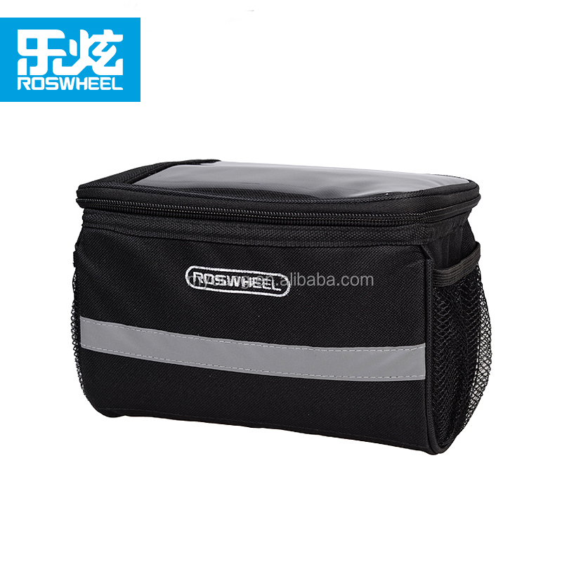 Roswheel Competitive Price and OEM Accepted 600D Polyester Bicycle Handlebar Bags