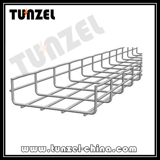 Pre Galvanized or Hot dip Galvanized Steel Wiremesh Cable tray