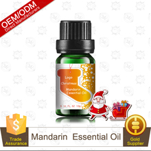 Perfect Christmas Gift Pure and Natural Mandarin Essential Oil in 10ml glass bottle