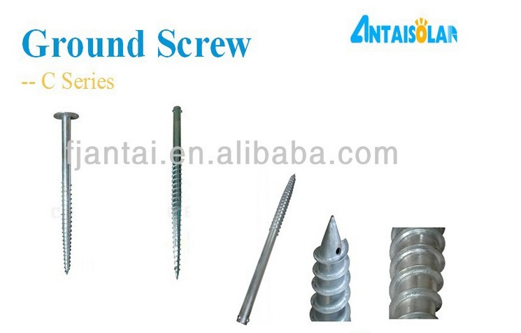 Screw Foundation Ground Mounting System