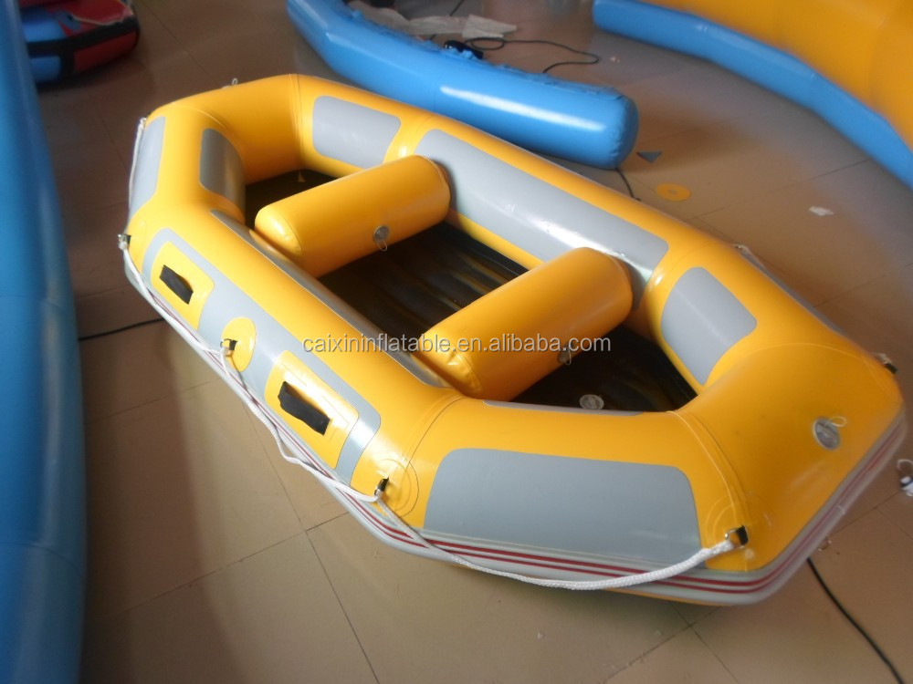 commercial inflatable boat for white water sport and fishing