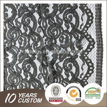 S261-2 150cm nice <strong>design</strong> have aesthetic feeling nylon cotton brand baby wrapper lace fabric