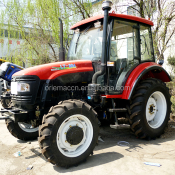 Top Brand Lutong 2WD 80HP Agricultural Tractor LYH820 with Optional Attachments