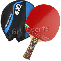 RITC 729 Friendship 2060# Pips-In Table Tennis Racket with Case for PingPong