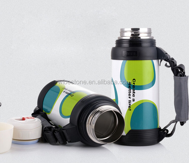 Wholesale double wall stainless steel insulation thermos vacuum flask