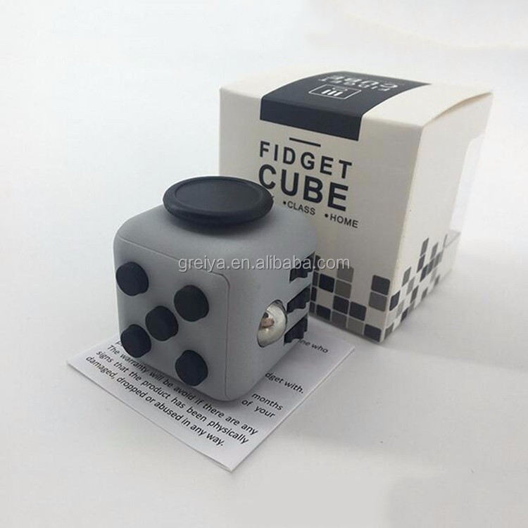 Greia toy Fidget Cube colors fidget six cube Stock Cheapest Wholesale