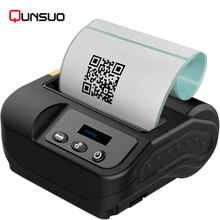 80mm ESC/TSC portable bluetooth thermal mobile label printer