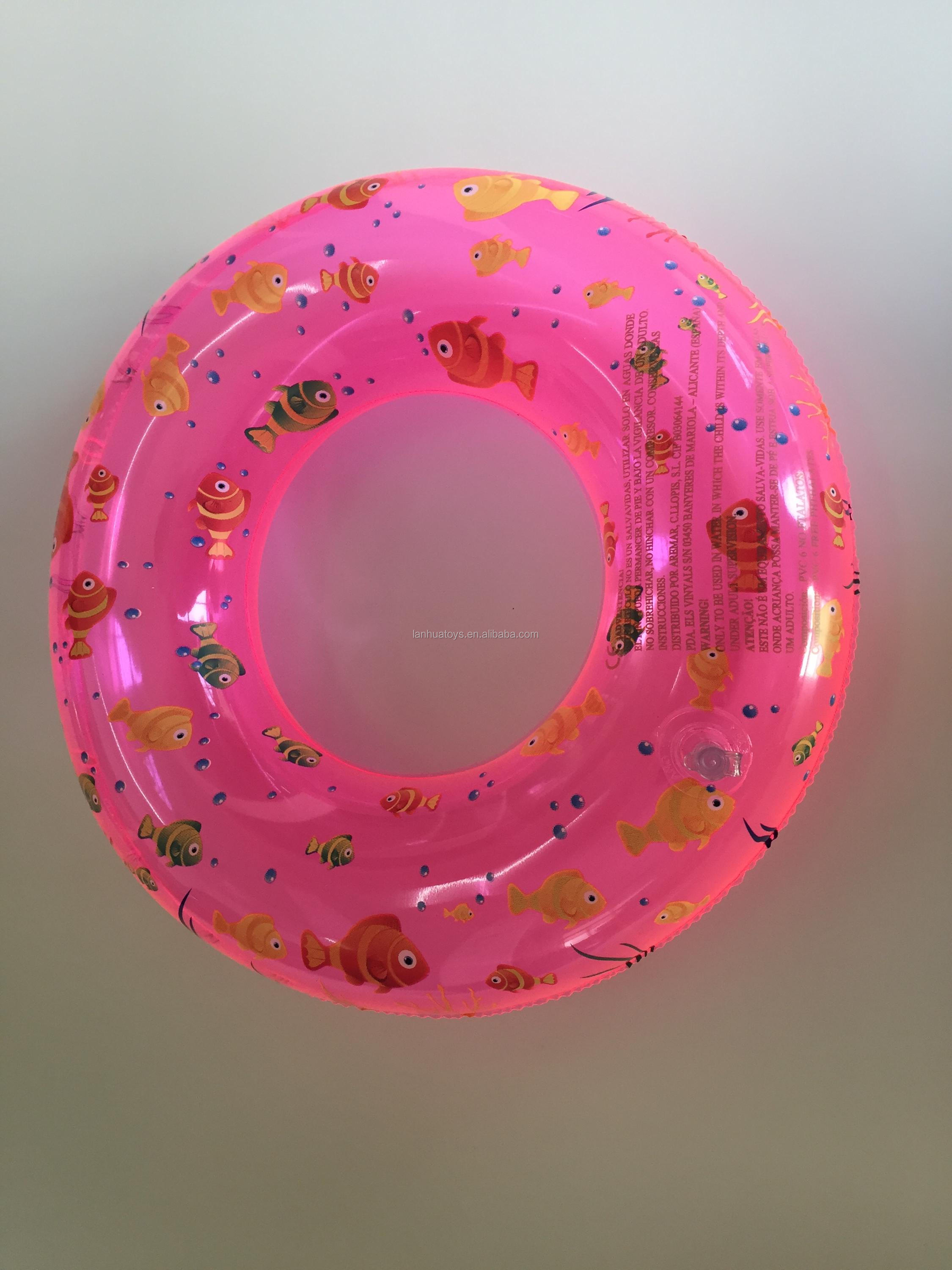 ICTI factory inflatable kids mini swimming ring