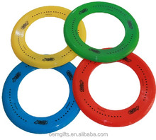 Cheap Plastic Frisbee Ring Toy Flying Disc Ring With Customised Logo