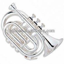 Standard Silver plated entry model hand Trumpet
