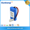 7.4v 2600mah high capacity 2500mah li polymer battery pack with rechargeable pcm and connector battery cell