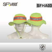 Hot New Products For 2015 Polyester Road Safety Reflective Cap And Hat