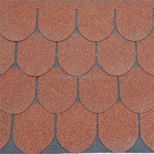 Fish Scale Shape Asphalt Shingle